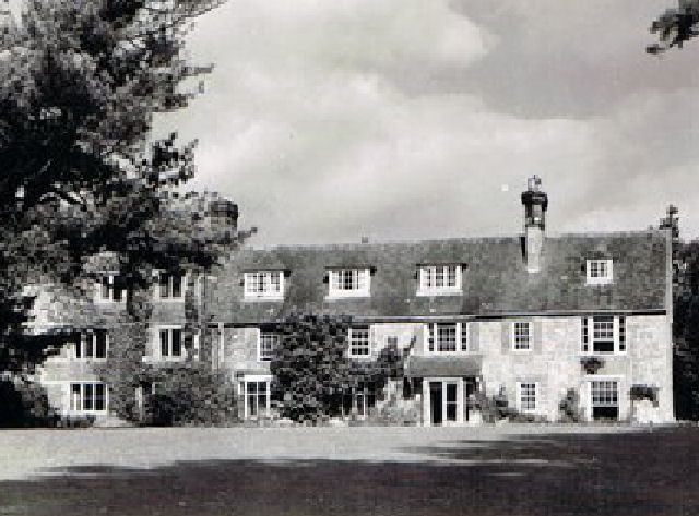 RECTORY WITH WEST WING, ABOUT 1950